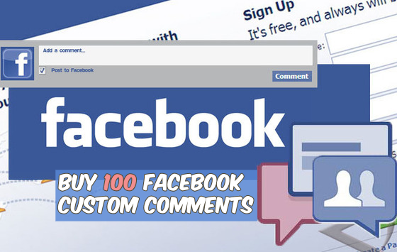 Buy 100 Facebook Custom Comments