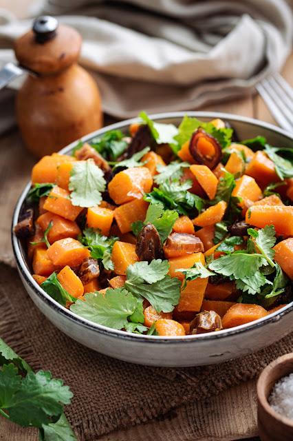 Salade de carottes aux dattes