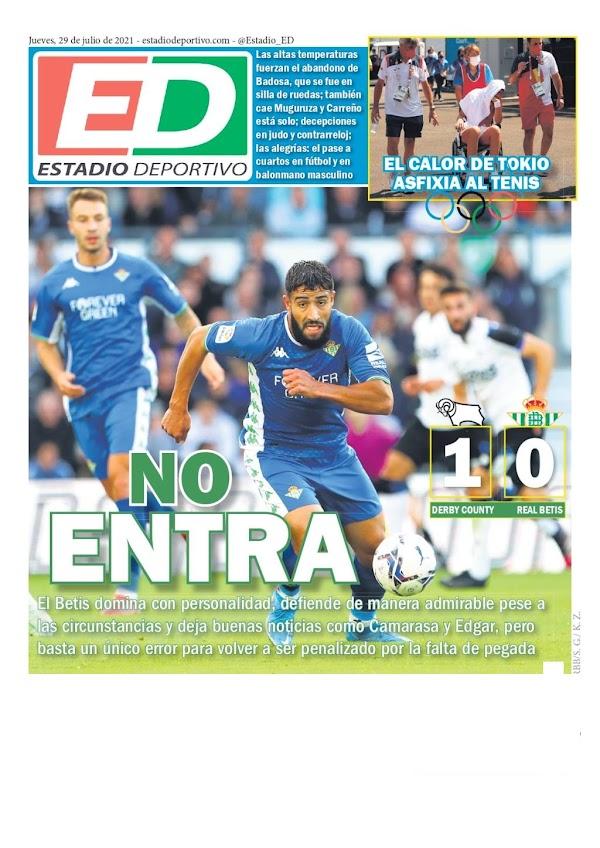 """Betis, Estadio Deportivo: """"No entra"""""""