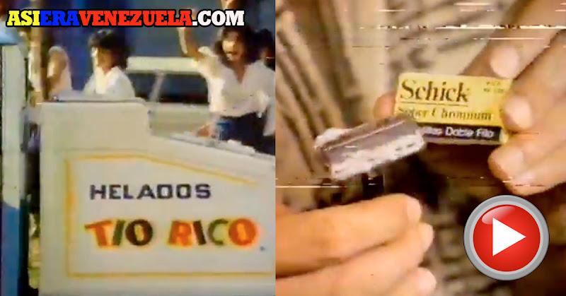 Los mejores Comerciales de TV de 1982 en Venezuela
