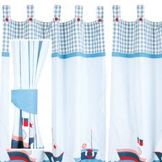Blue Curtains For Baby Boy Nursery | Gopelling.net