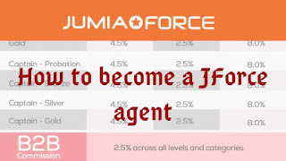 Step by step procedure to become a Jumia Sales Consultant or Agent