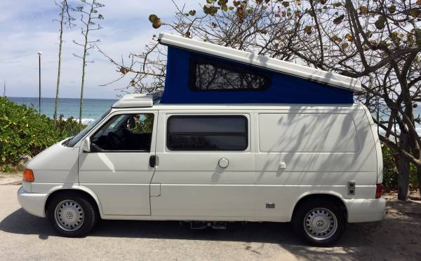 used rvs 1997 volkswagen eurovan winnebago camper for sale by owner. Black Bedroom Furniture Sets. Home Design Ideas