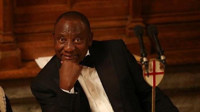 South Africa's Ramaphosa donates half of his salary to Mandela fund