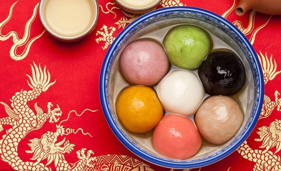 festival faroles en china yuanxiao