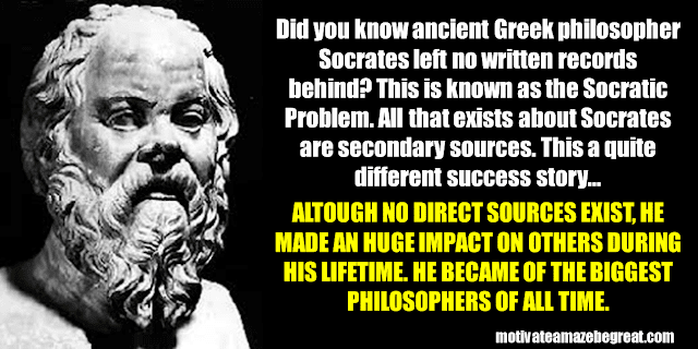 Success Stories From Famous People Who Failed Before Succeeding: Socrates