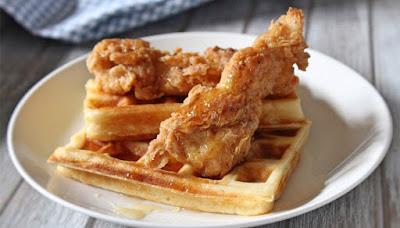 Fried Chicken Waffles Recipe