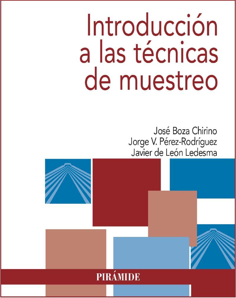 Introducción a las técnicas de muestreo – José Boza Chirino