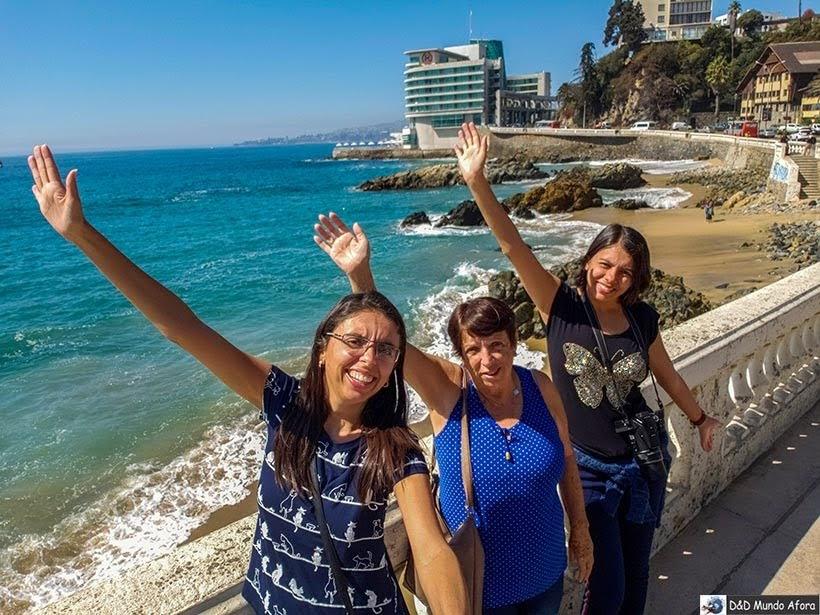 Playa Caleta Abarca - O que fazer em Viña del Mar em um dia, Chile