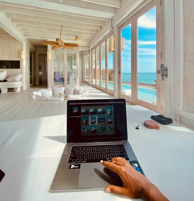 laptop, work, Work From Paradise, How To Make The Most Of Your Remote Work, remote work, lifestyle