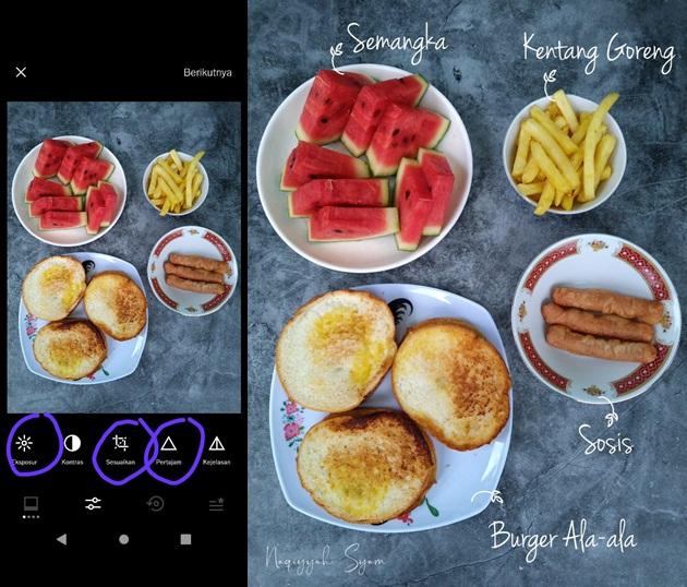 Tips Foto Produk dengan Aplikasi  VSCO