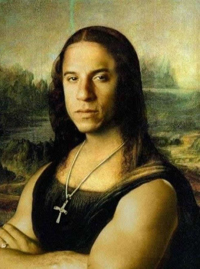 Weird Mona Lisa Pictures 5