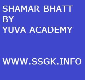SHAMAR BHATT BY YUVA ACADEMY
