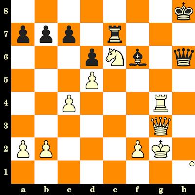 Les Blancs jouent et matent en 3 coups - Maxwell Fuller vs Ridha Belkadi, Siegen, 1970