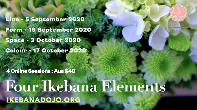 Four Ikebana Elements