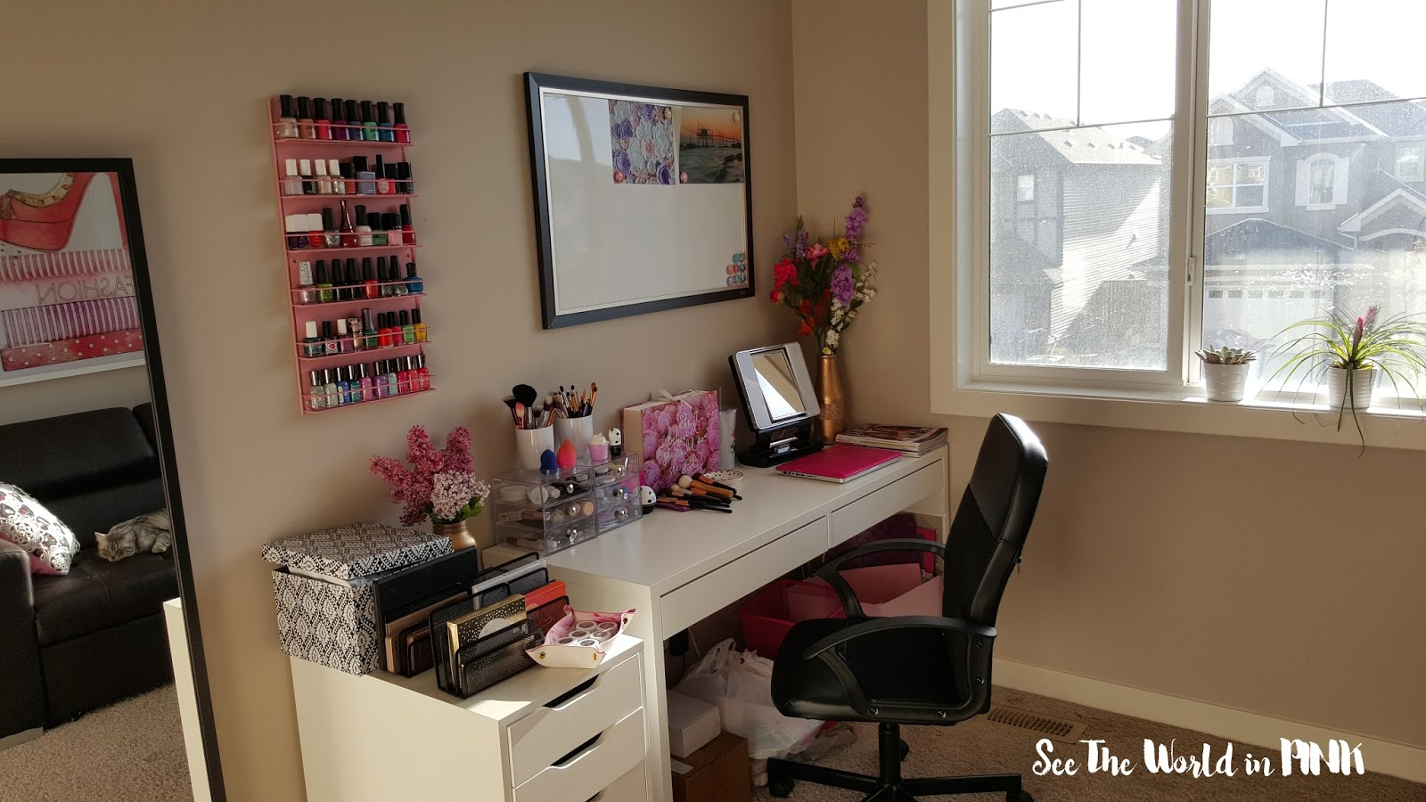 makeup room office inspiration