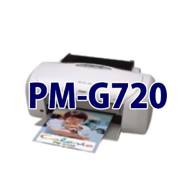 Epson Colorio PM-G720ドライバーダウンロード