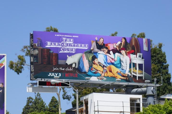 Babysitters Club Netflix remake billboard