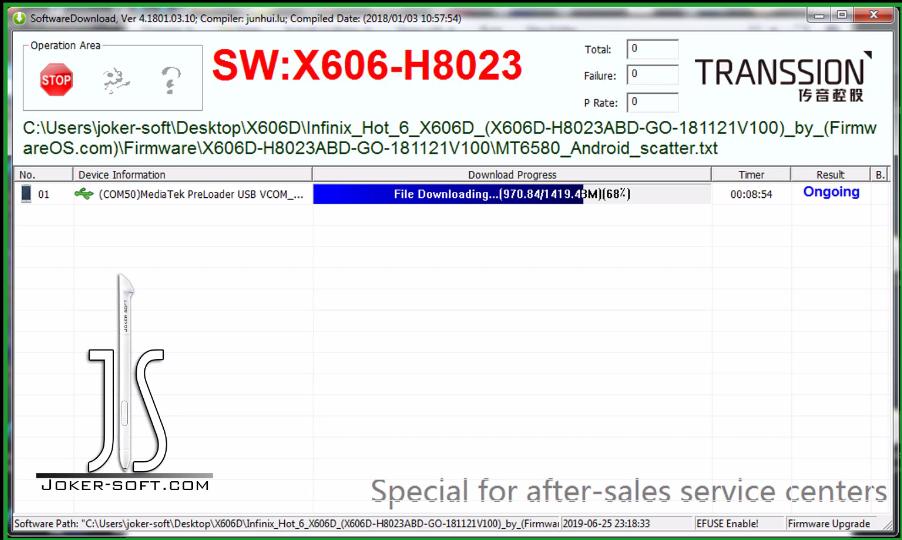فيديو لطريقتين لحل مشكله Infinix X606D-X606C-/X606B بعد