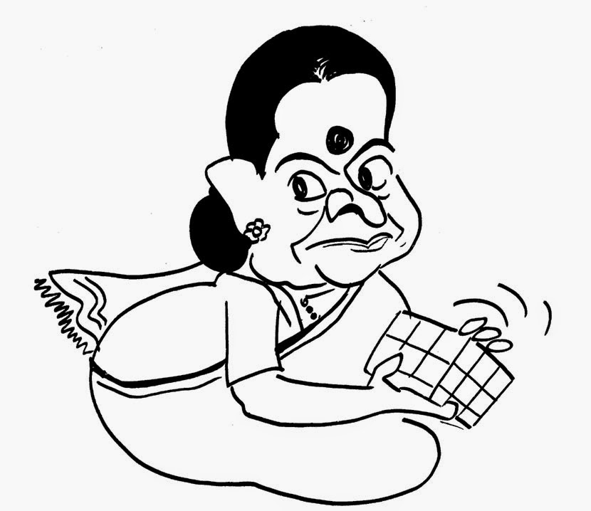 sudheernath's caricatures: July 2014
