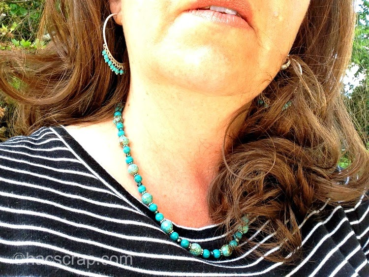 My Scraps | Mid-Life Mom Style - Contrasting Jewelry