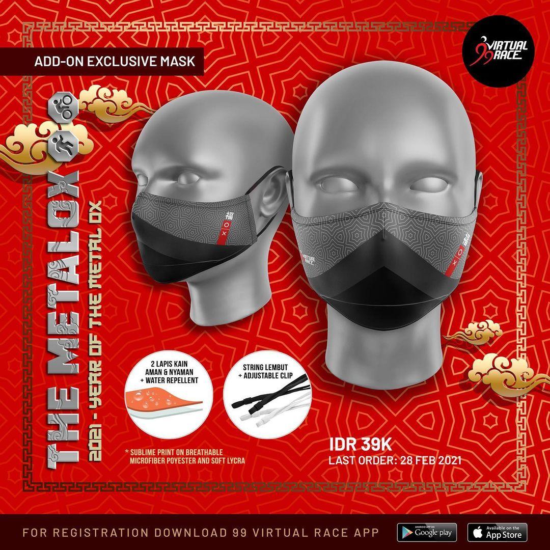 Masker 😷 The MetalOx Race • 2021