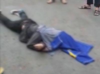 Viral, Video Pemuda Melompat Dari Gedung Transmart Lampung Setinggi 40 Meter