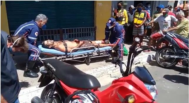 Empresário é esfaqueado durante tentativa de homicídio em Parnaíba