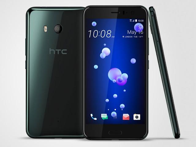 Fotografia dello smartphone HTC U11