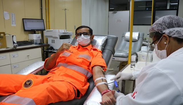 Corpo de Bombeiros Militar do RN lança campanha para incentivar doação de sangue