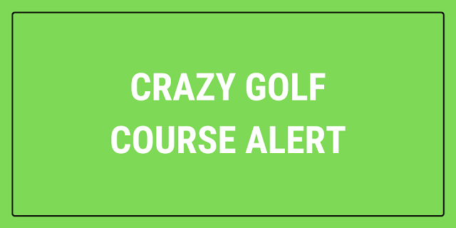 A free to play pop-up crazy golf course will be set up in Dorchester's Brewery Square on Saturday 17th July