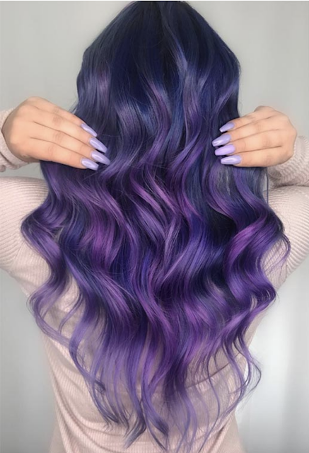 light purple hair color 2019