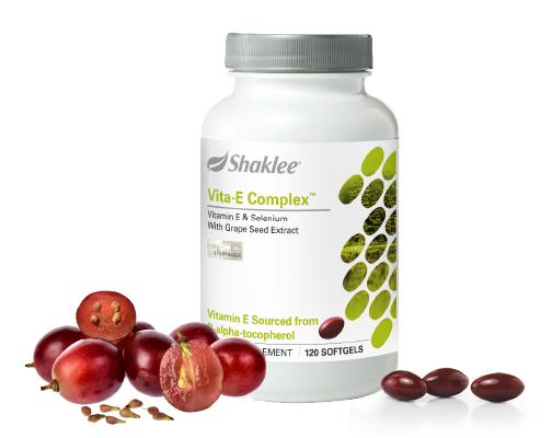 Vita-E Complex™ Sokongan Antioksidan Anda