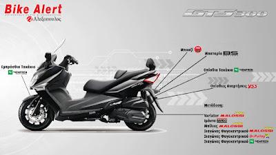 SYM GTS 300 ie F4 ABS 2013-2016: Αναλώσιμα & Ανταλλακτικά