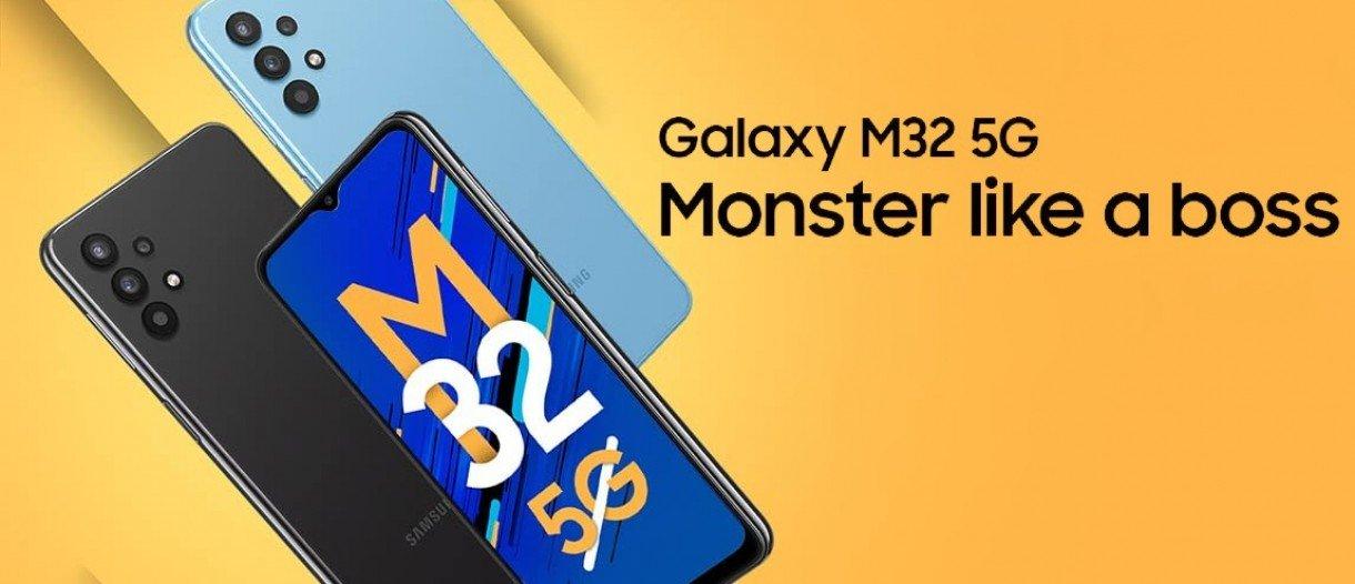 Announced: Samsung Galaxy M32 5G