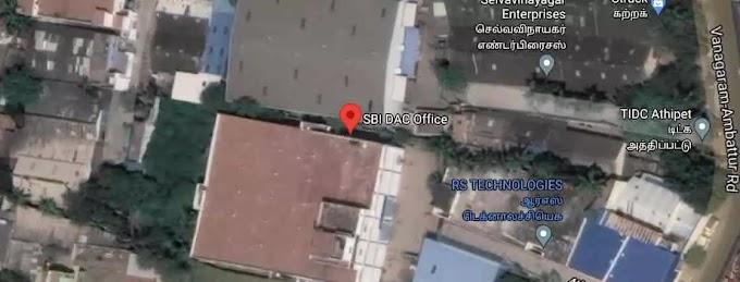 SBI • (SBIN0011760 - DAC, CHENNAI) • NEW Branch