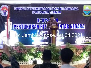 Sekda Provinsi Jambi Secara Resmi Membuka Final PPAN