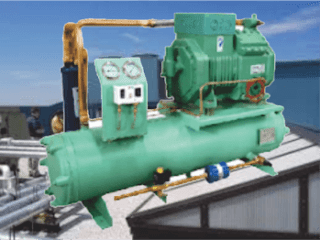kondensor kondenser  berpendingin air