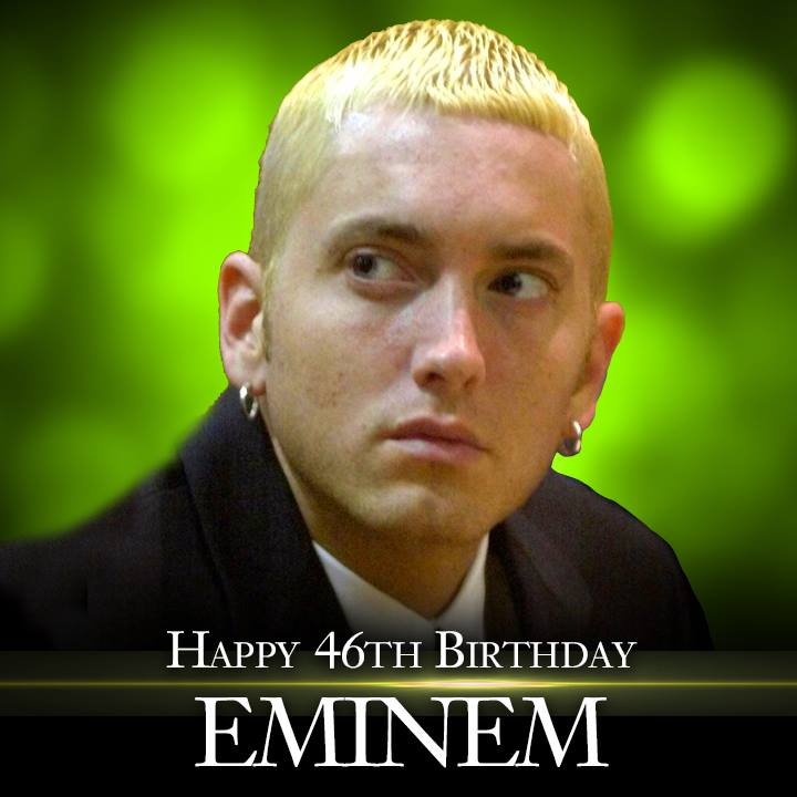 Eminem's Birthday Wishes Beautiful Image