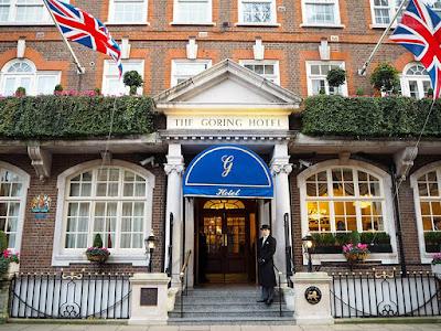The Goring Hotel near Buckingham Palace