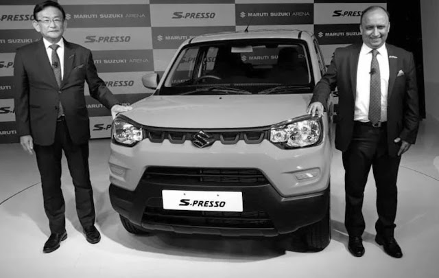 Maruti suzuki plane S-presso has come with CNG option.