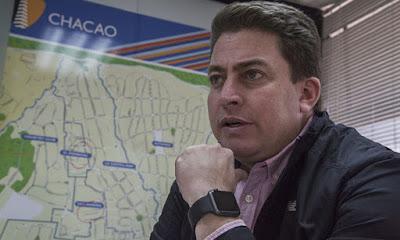 Gustavo Duque, alcalde de Chacao