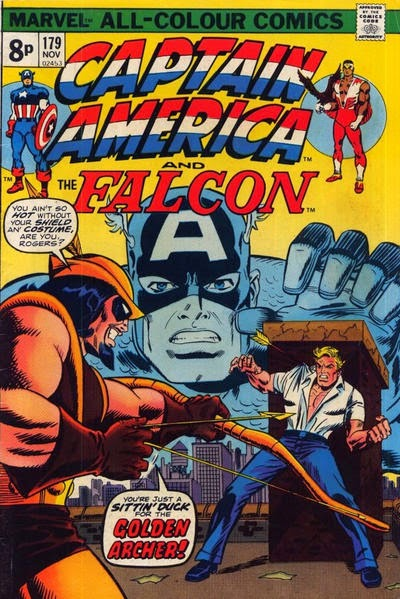 Captain America and the Falcon #179, Golden Archer