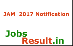 JAM  2017 Notification