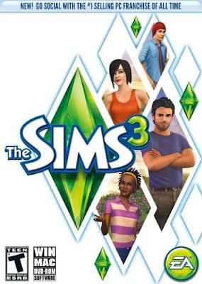 Capa do The Sims 3