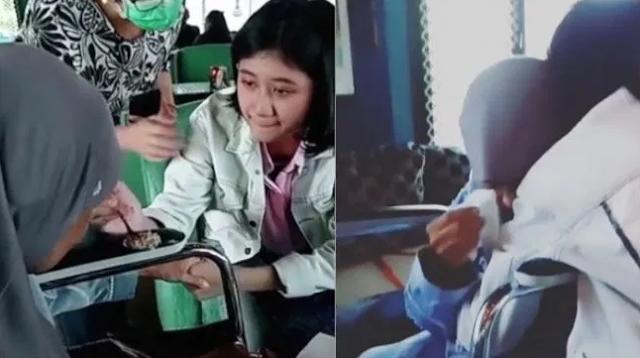 Momen Ibu Nike Ardilla Bertemu Gadis yang Mirip Anaknya, Nangis hingga Tak Lepas Pelukan