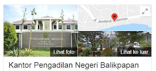 Green area pengadilan negeri balikpapan
