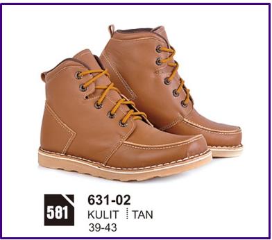 Sepatu Boots Pria Azzura 631-02 f57a42da5b