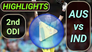 AUS vs IND 2nd ODI 2020