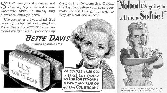 Gambar Foto Vintage Iklan Sabun Lux Dengan Model Cantik